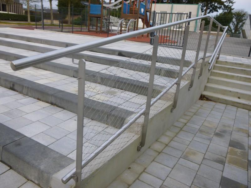 Ferronnerie m tallerie tumelin rocher r alisation garde corps rampes gt - Rampe escalier exterieur aluminium ...