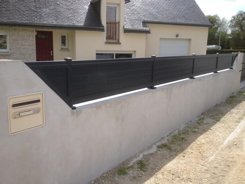 Ferronnerie m tallerie tumelin rocher r alisation for Luminaire exterieur ral 7016